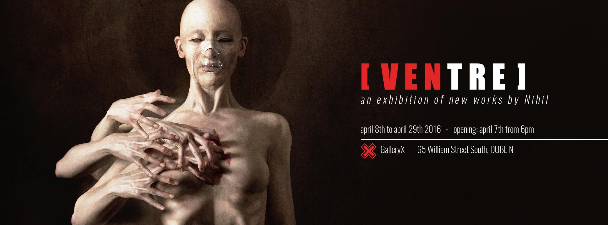 Ventre solo exhibition in Dublin