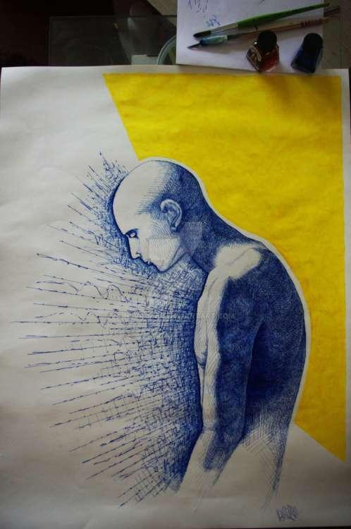 [DANS LE VIDE] by Nevrozac