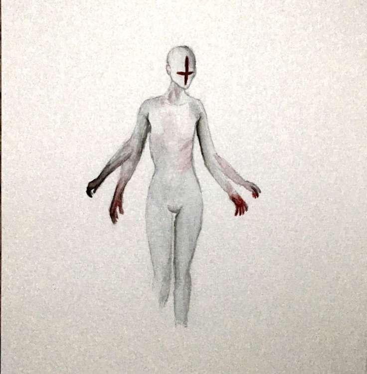 [THE CROSS] by Mariana Lorini